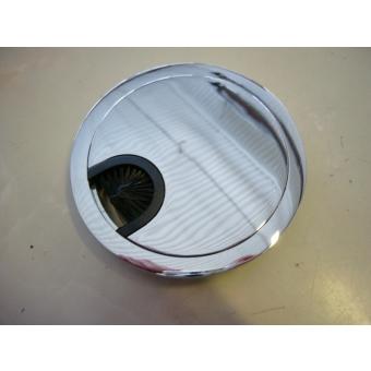 Kábelátvezető króm D80mm
