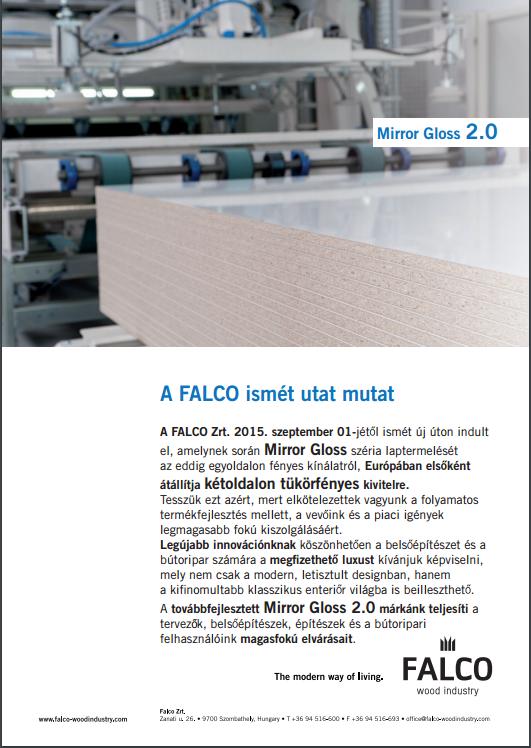 Falco tükörfényes 2.0