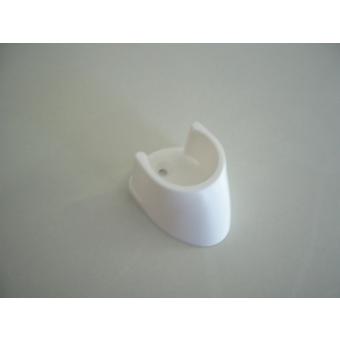Rúdtartó 25mm 2db/ fehér/