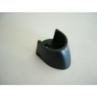 Rúdtartó 25mm 2db/ fekete/