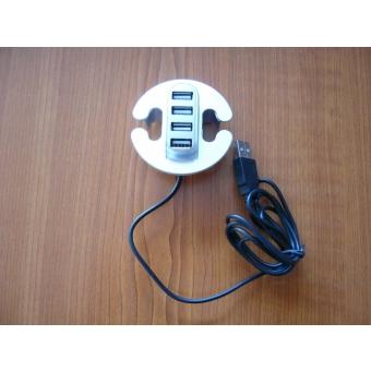 USB elosztó ezüst 4port 2.0HUB